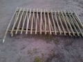pole fencing sections