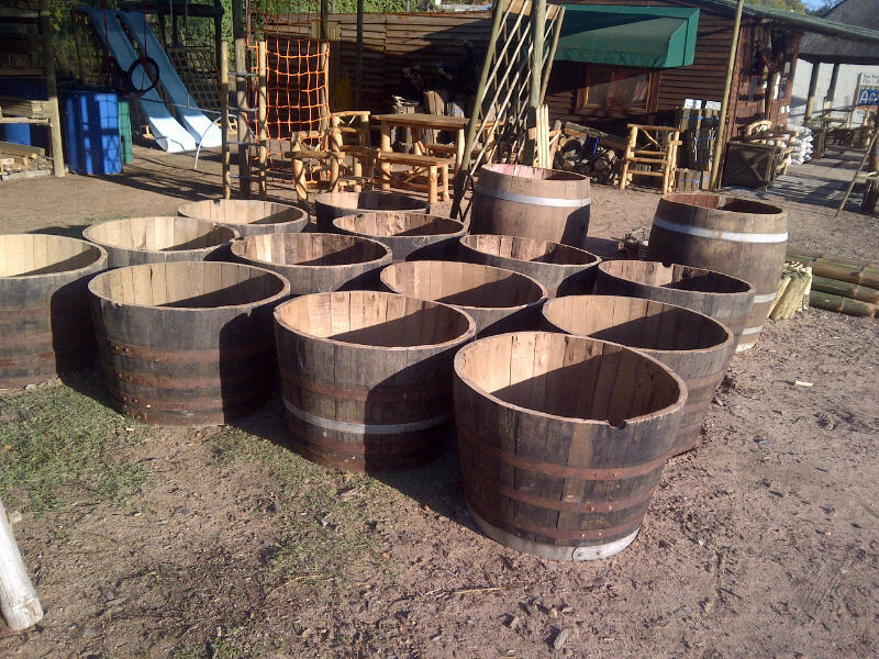 Wine Barrels Timber Trading